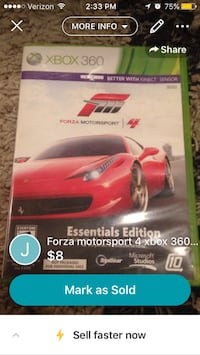 Forza Motorsport 5 Xbox One game case Hurricane, 84737