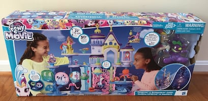My Little Pony Castle with Light-Up Tower --- New in Box