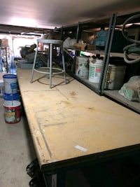 work bench 4ft 5, 6,  8ft with stool  Brooklyn