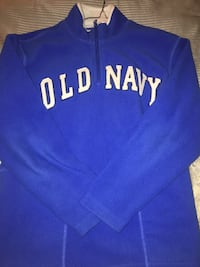 All Blue Old Navy Zip up sweater  Ashburn, 20148