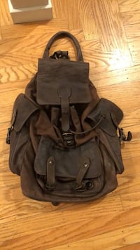 100% Leather Backpack Concord, 94521