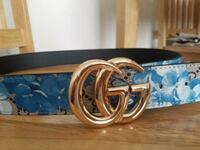 blue and silver Gucci belt London, E11 1DQ
