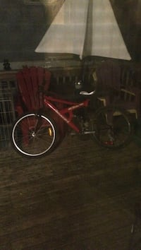 red hardtail full-suspension bicycle Lower Sackville, B4E