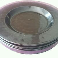 Deep purple glass dish Mississauga, L5N 6N8