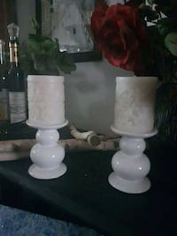 Pretty candle holders & candles Hamilton, L8L 7P4
