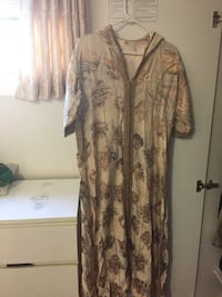 women's brown and black floral dress Surrey, V4N 1Y4