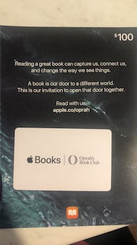 Apple Books Gift Card Lake Forest, 92630
