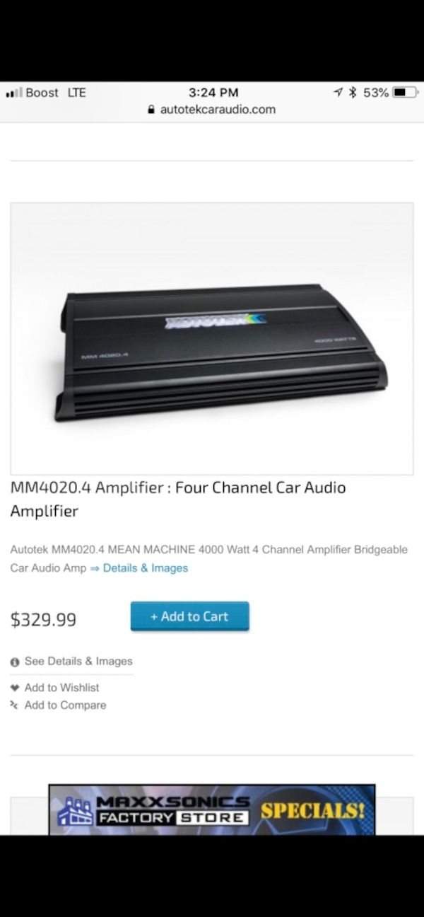 Used and new car amplifier in Yonkers - letgo