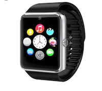 Touch screen smart watch . •Sync phone book /call history  •Make and answer calls  •Fitness tracker  •Email  •Messaging answer •Call reminder  •Passometer •Dialer •Remote control GPS •Facebook , Twitter and more ...  On wrist wearable; for males , females Sarasota, 34237