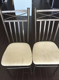 2 chairs with back rest  536 km