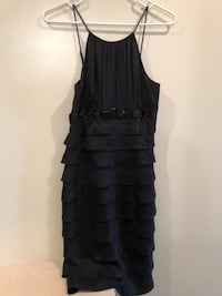 Cache Small Black Sleeveless Studded Ruffled Dress Cocktail Prom Size 2. Excellent condition, smoke free home. Washington, 20003