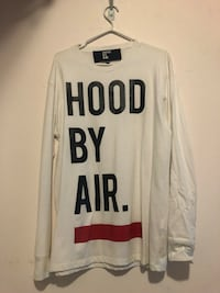 Hood By Air logo print T-shirt - Medium Toronto, M8V 1H6