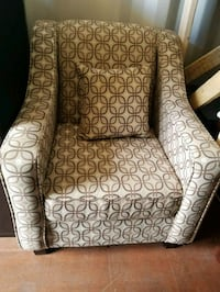 Nice beige accent chair