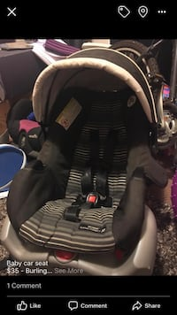 Baby's black and gray car seat carrier Burlington, L7T 0B1
