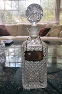 Crystal whiskey decanter Silver Spring, 20904