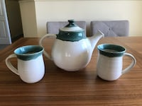 Pottery Tea Set Victoria