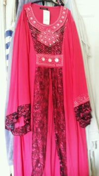 women's pink and brown traditional dress Hyattsville, 20783