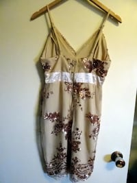 Gold sequin dress (Sz S) Vancouver