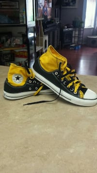 Yellow Converse All Star high-top sneakers Port Coquitlam, V3C 1R4