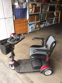 Black and red mobility scooter 3 wheels Santa Clarita, 91351