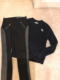 Kids ab and fitch pants and sweater sz 6/7 Hamilton, L8J 0H8