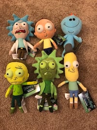 RICK AND MORTY GALACTIC PLUSHIES STUFFED TOY Carlsbad, 92010