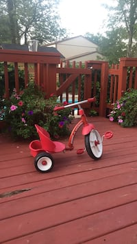 Red and white Radio Flyer pedal trike Springfield, 22152