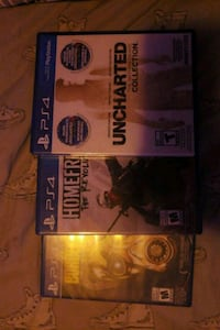 Ps4 games  622 km