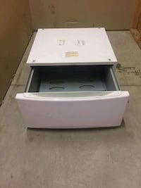 2 Pedastals for front load machines, in good condition.