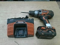 Ridgid 18v drill and battery charger Baltimore, 21216