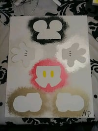 Mickey Mouse painting Merced, 95341