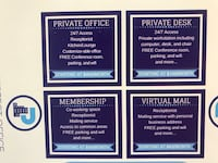 Virtual Mail, Private Desk, Memberships and Private Office for sale Beltsville