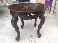 Fancy carved wooden table  Johnson City, 37615