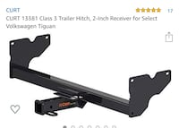 Trailer hitch for VW 2018+ Chantilly, 20152