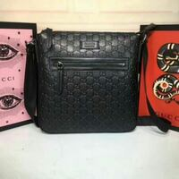 black Gucci leather bag Vancouver, V6P 2X2