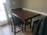 Counter height table and chairs  Regina, S4R 5C3