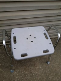 Shower safety bench, used once $35 obo