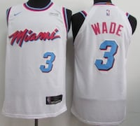 Dwyane Wade Jersey - XL - With Tags Surrey, V4N 0S3