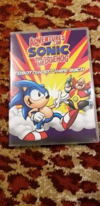 Sonic the hedgehog dvd Robotnik stikes back Toronto, M9W 6L4