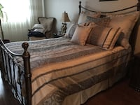 Bombay wrought iron queen bed  557 km