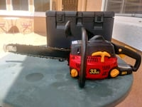Homelite 16 in chainsaw with carrying case Lancaster, 93536