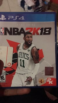 NBA 2K18 PS4 game case Beltsville, 20705