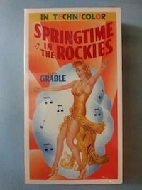 Springtime in the Rockies vhs