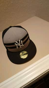 Used yellow and black New York Yankees fitted cap for sale in Red ... d646a13fcd90