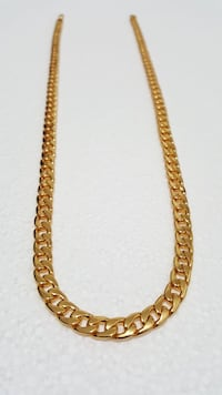18K Gold PVD Plated Cuban Chain Brampton