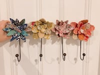 Cloth floral hook