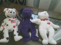 Three bear Beanie Babies Mint Condition never have Glendale, 85308