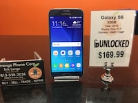 Unlocked / Any Carrier Galaxy S6 32GB Temple Terrace, 33617