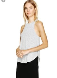 Aritzia Wilfred free Light Grey fit and flare tank Markham, L6E 0H0
