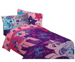 My Little Pony 5 piece twin bed set